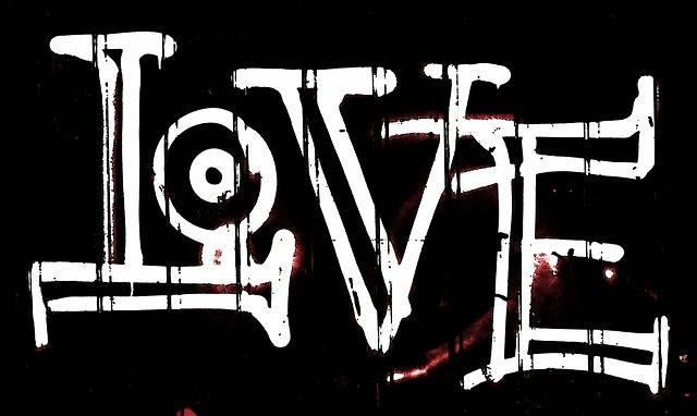 Love Graffiti Lettering - Free photo on Pixabay (582861)