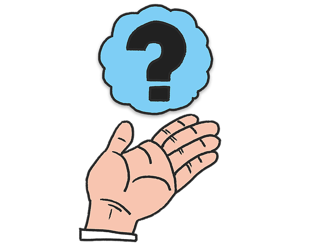 Hand Question Questions - Free image on Pixabay (584646)