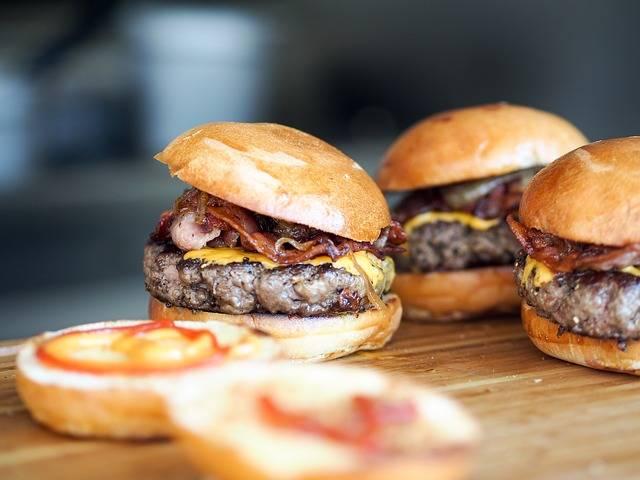 Burger Fast Food Hamburger - Free photo on Pixabay (585235)