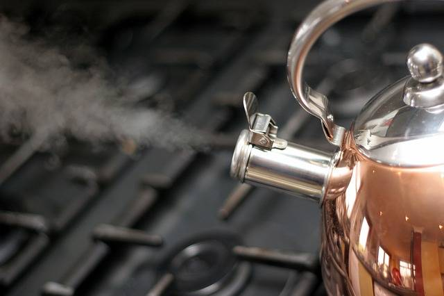Kettle Copper Steam - Free photo on Pixabay (585385)