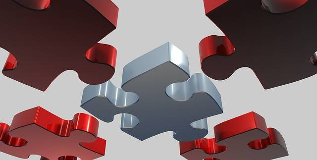 Puzzle Share 3D - Free image on Pixabay (586770)