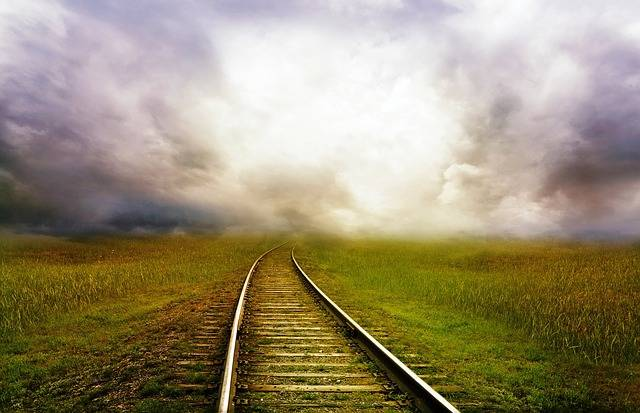 Railroad Tracks Railway - Free photo on Pixabay (587941)