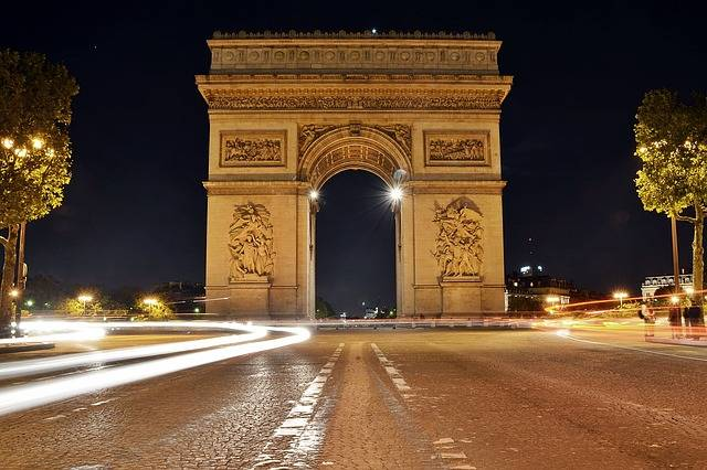 Arc De Triomphe - Free photo on Pixabay (590023)