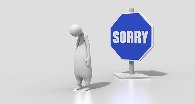 Sign Sorry Character - Free image on Pixabay (590305)