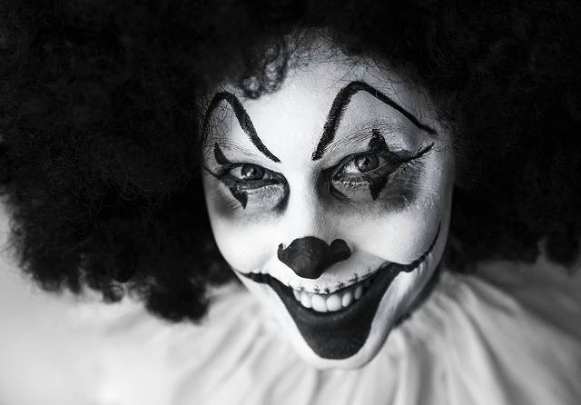Clown Creepy Grinning - Free photo on Pixabay (590339)