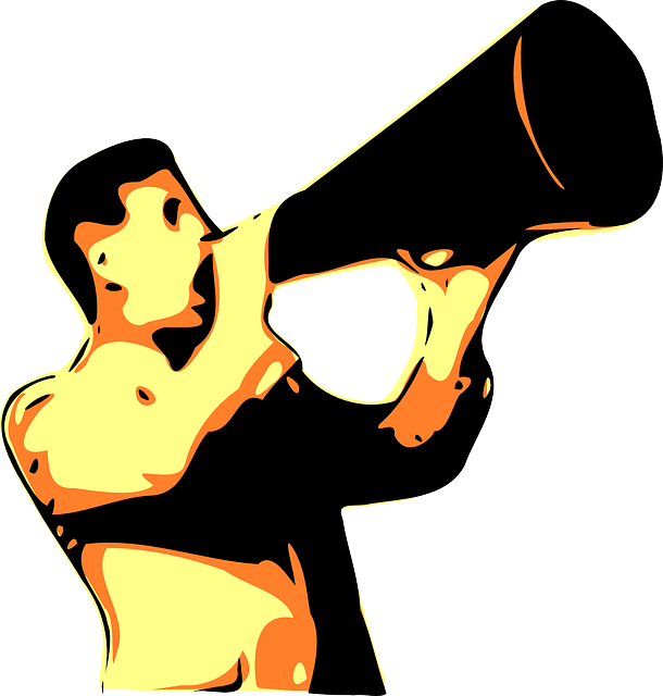 Megaphone Shouting Voice - Free vector graphic on Pixabay (590494)