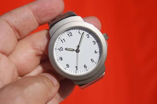 Clock Time Stopwatch Wrist - Free photo on Pixabay (591967)