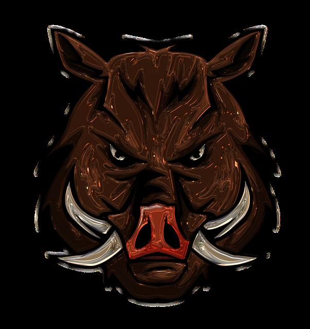 Boar Metallizer Art - Free image on Pixabay (592566)
