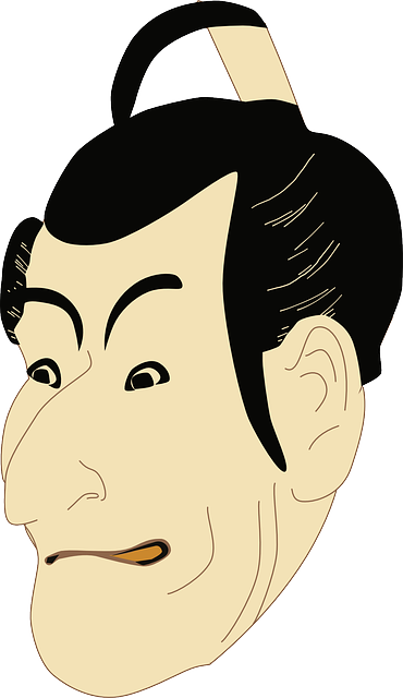 Kabuki Actor Asian - Free vector graphic on Pixabay (593027)