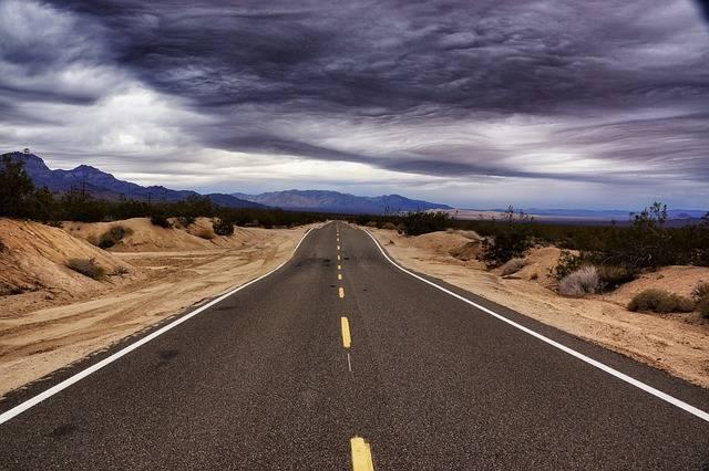 Road Highway Asphalt - Free photo on Pixabay (593090)