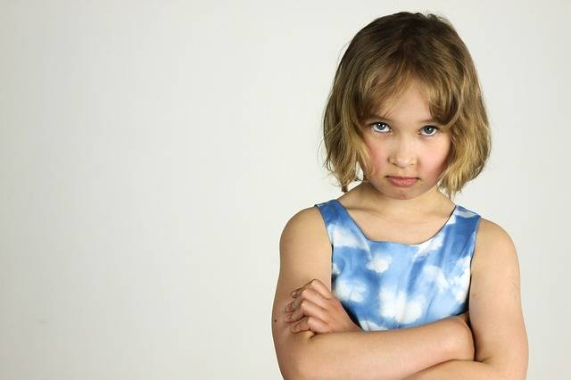 Child The Little Girl Anger Bad - Free photo on Pixabay (594688)