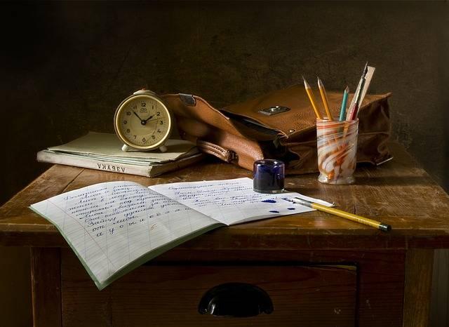 Still Life School Retro - Free photo on Pixabay (595123)