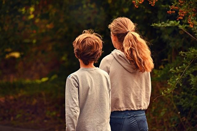 Boy Girl Brother - Free photo on Pixabay (595458)