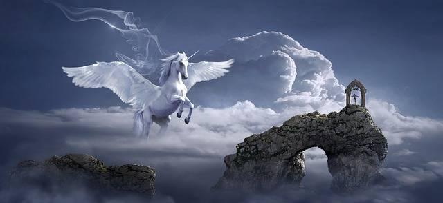 Horse Pegasus Archway - Free photo on Pixabay (596023)