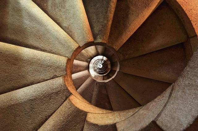 Staircase Spiral Architecture - Free photo on Pixabay (596029)