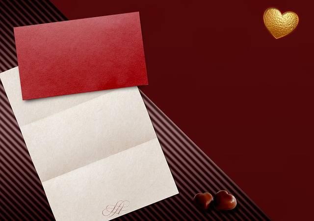 Heart Paper Envelope - Free photo on Pixabay (596055)