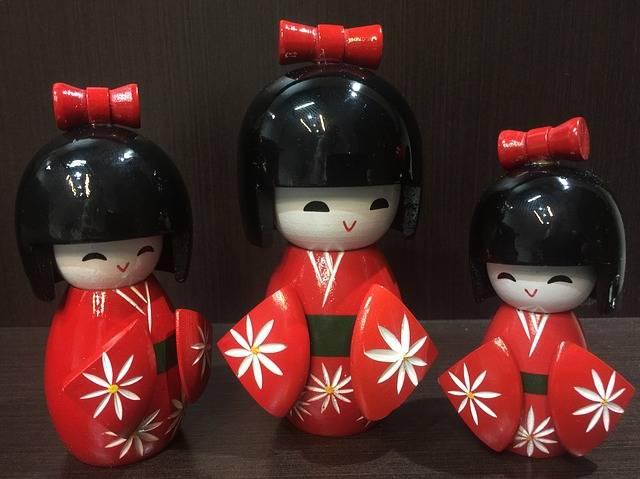 Japanese Doll - Free photo on Pixabay (596065)