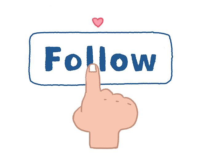 Follow Follower Social - Free image on Pixabay (596852)