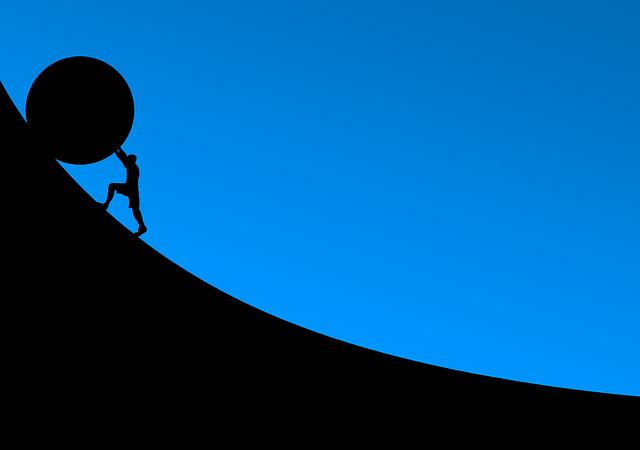 Overcoming Stone Roll - Free image on Pixabay (597004)