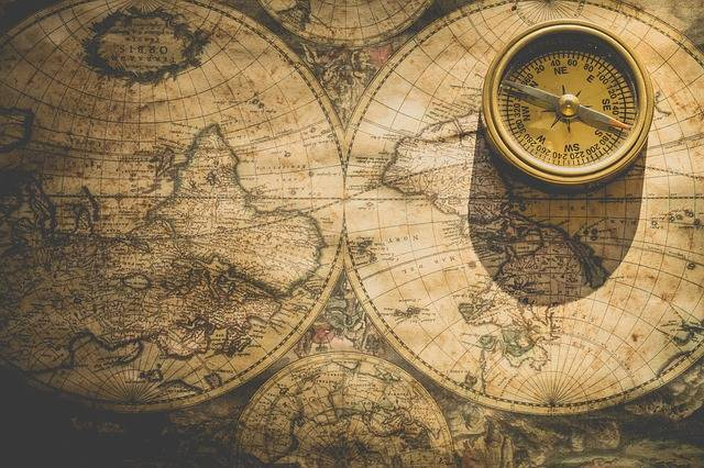 Compass Map Direction - Free photo on Pixabay (597680)