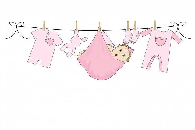 Baby Girl Pink - Free image on Pixabay (597699)
