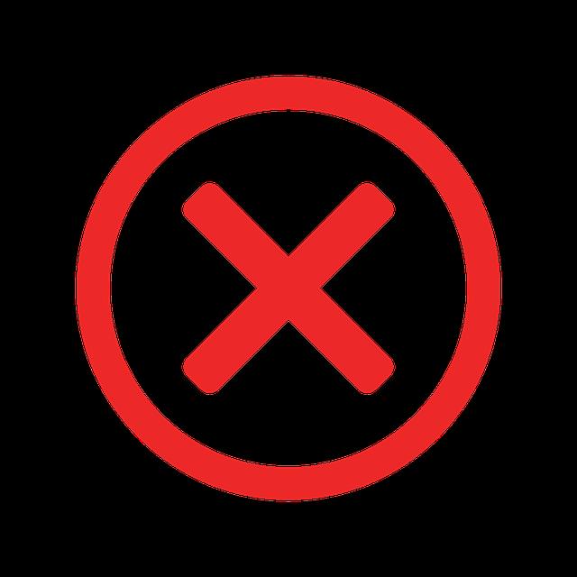 False Error Missing - Free vector graphic on Pixabay (597724)