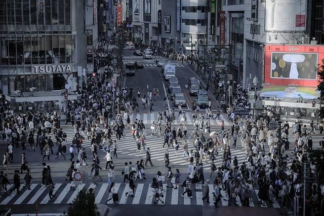 Shibuya Intersection Skyline - Free photo on Pixabay (597744)