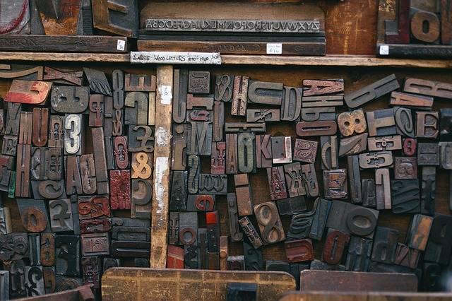 Woodtype Printing Font - Free photo on Pixabay (598860)