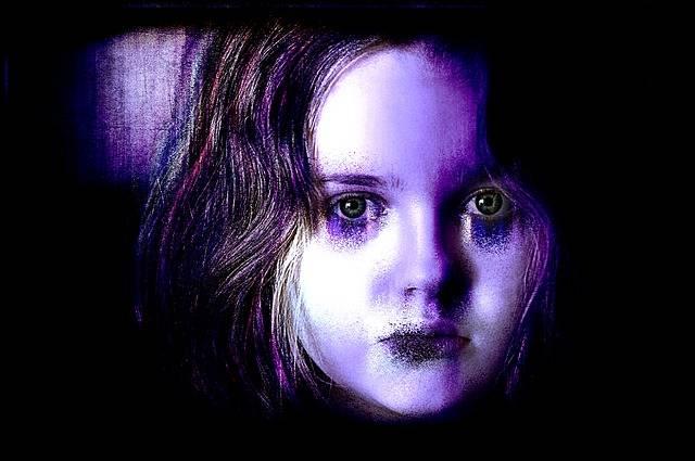 Face Woman Horror - Free image on Pixabay (598875)