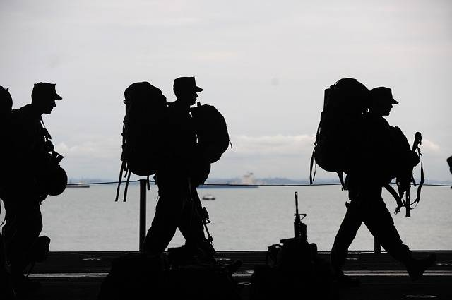 Military Men Departing Service - Free photo on Pixabay (599133)