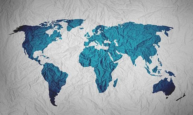 Map Of The World Background Paper - Free image on Pixabay (599457)