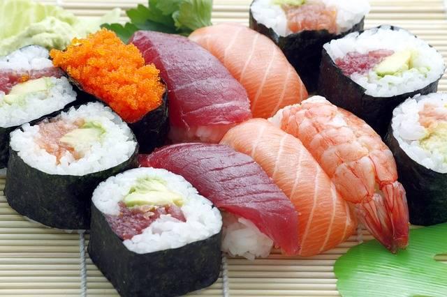 Sushi Japanese Asian - Free photo on Pixabay (599482)