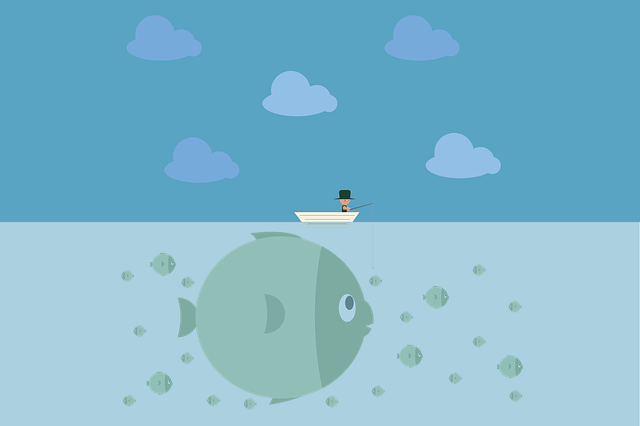 Fishing Man Water - Free vector graphic on Pixabay (600215)