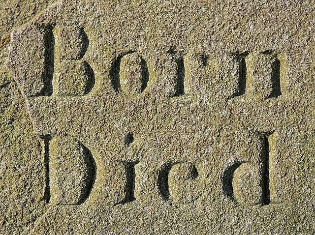 Born Died Life - Free photo on Pixabay (600235)