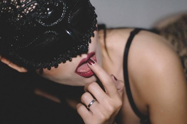 Lick Lips Girl - Free photo on Pixabay (600432)