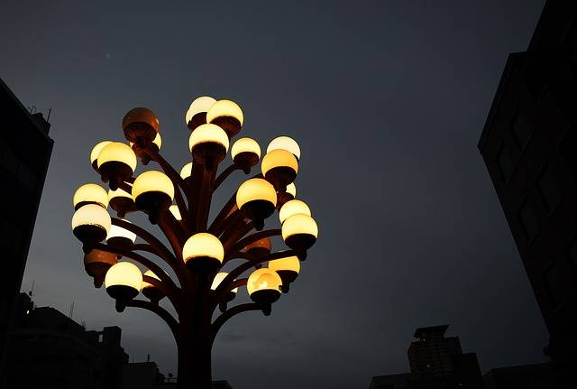 Night View Street Lights Electric - Free photo on Pixabay (600752)