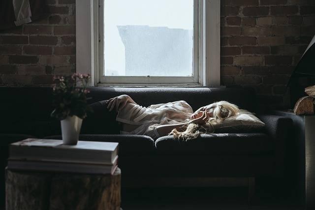 Woman Sleeping Sofa - Free photo on Pixabay (600818)
