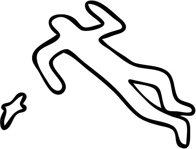 Crime Scene Silhouette Body - Free vector graphic on Pixabay (602939)