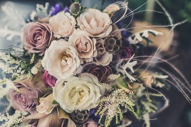 Bouquet Roses Flowers - Free photo on Pixabay (603034)