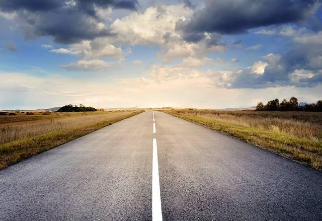 Road Asphalt Sky - Free photo on Pixabay (604041)