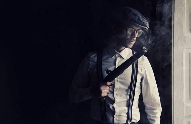 Gun Gangster Mafia - Free photo on Pixabay (604984)