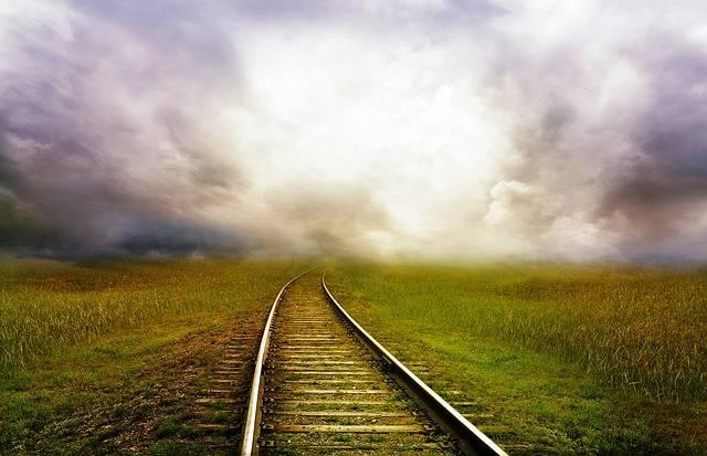 Railroad Tracks Railway - Free photo on Pixabay (604996)