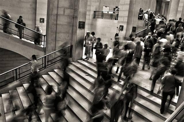People Crowded Steps - Free photo on Pixabay (605015)