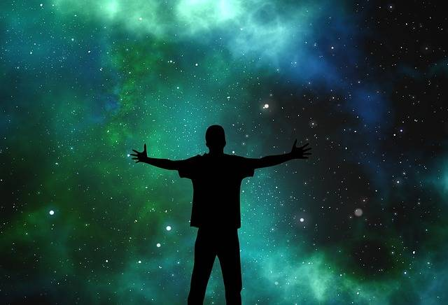 Universe Person Silhouette - Free image on Pixabay (606429)