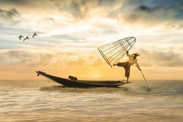 Fisherman Fishing Boat - Free photo on Pixabay (606744)