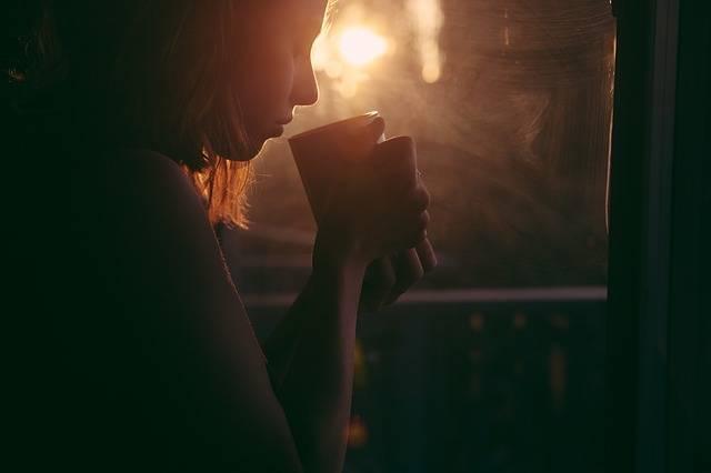 Girl Drinking Tea Coffee - Free photo on Pixabay (606954)