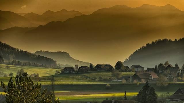 Landscape Autumn Twilight - Free photo on Pixabay (607885)