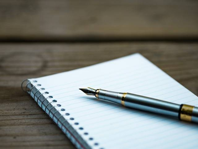 Fountain Pen Note Notebook - Free photo on Pixabay (607901)