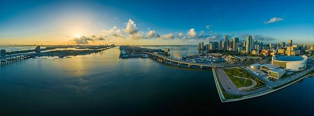 Panorama Miami Florida - Free photo on Pixabay (611845)
