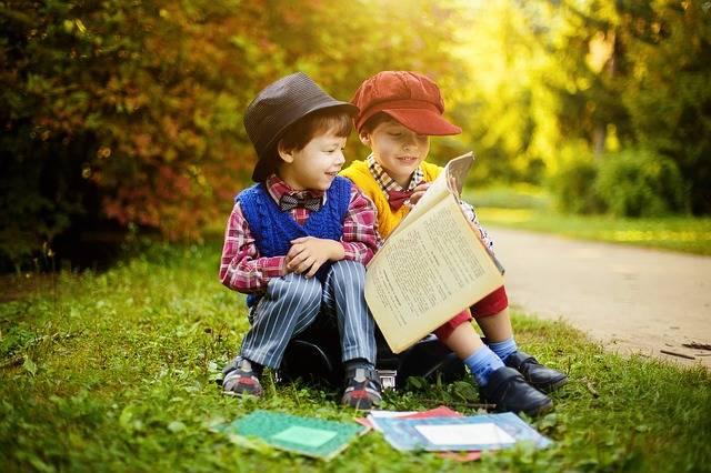 Books Boys Forest - Free photo on Pixabay (614050)